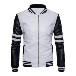 2018 Baseball <font><b>Leather</b></font> <font><b>Jacket</b