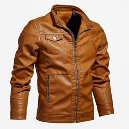 2019 Hot Selling Mens Motorcycle Leather Jackets Outerwear B