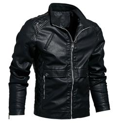 2019 New Arrival Mens Outerwear Motorcycle Leather Jackets B