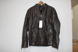 MENS KH SCHDARROW KHNOR JACKET CHOUYATOU FASHION LEATHER SIZ