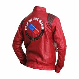 Akira Kaneda Red Leather Jacket - BNWT