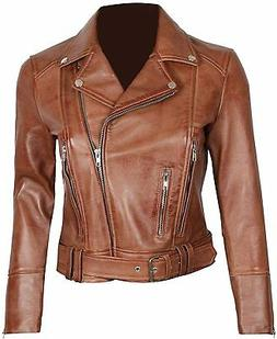 Blingsoul Leather Jackets for Women - Asymmetrical Ladies Mo