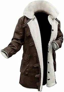 Blingsoul Shearling Leather Coats for Men - Swedish Bomber L