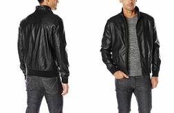 bomber men s smooth lamb touch faux