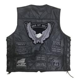Cool Motorcycle <font><b>Jacket</b></font> Genuine <font><b>