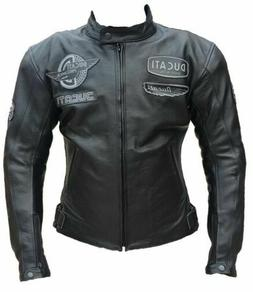 Ducati Corsre Motorbike Racing Leather Jacket