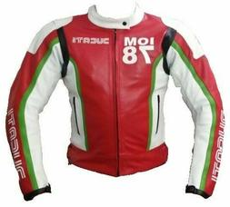 Ducati Motorbike Racing Leather Jacket