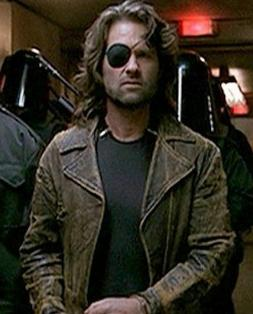 Escape from LA Kurt Russell Snake Plissken Distressed Brown