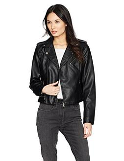 Levi's Women's Faux Leather Asymmetrical Motorcycle Jacket
