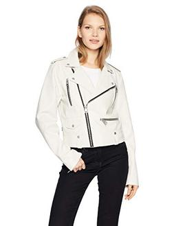 Levi's Women's Faux Leather Contemporary Motorcycle Jacket,