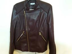 Calvin Klein Faux Leather Moto Jackets Brand New without Tag