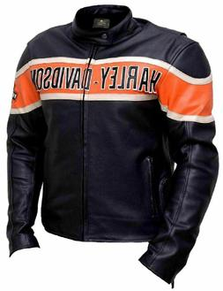 Harley Davidson Biker Genuine Leather Jacket Victoria Lane S