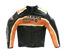 HARLEY-DAVIDSON Motorcycle Cow-Hide Leather Jacket Victory L