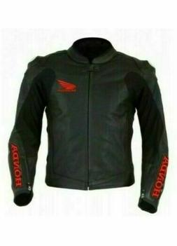 Honda Motorbike Racing Leather Jacket