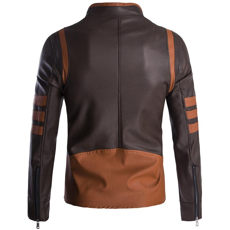 2018 High-end Wolverin Motorcycle Logans <font><b>Jacket</b></font> Casual Coats <font><b>Jacket</b></font>