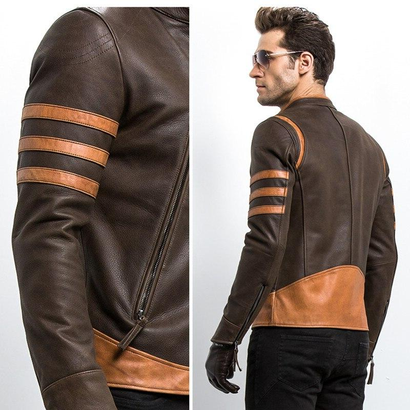 2018 <font><b>Jacket</b></font> Motorcycle <font><b>Leather</b></font> Coats <font><b>Jacket</b></font>