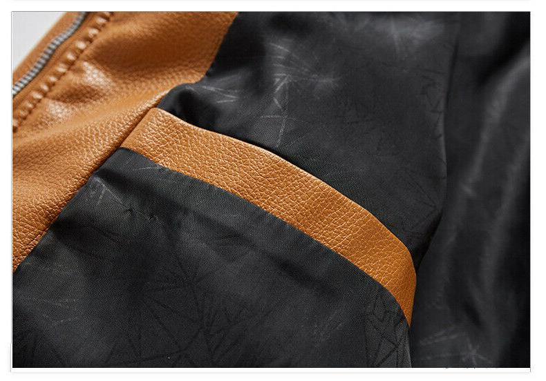 2019 New Arrival Outerwear Motorcycle Leather Bikers