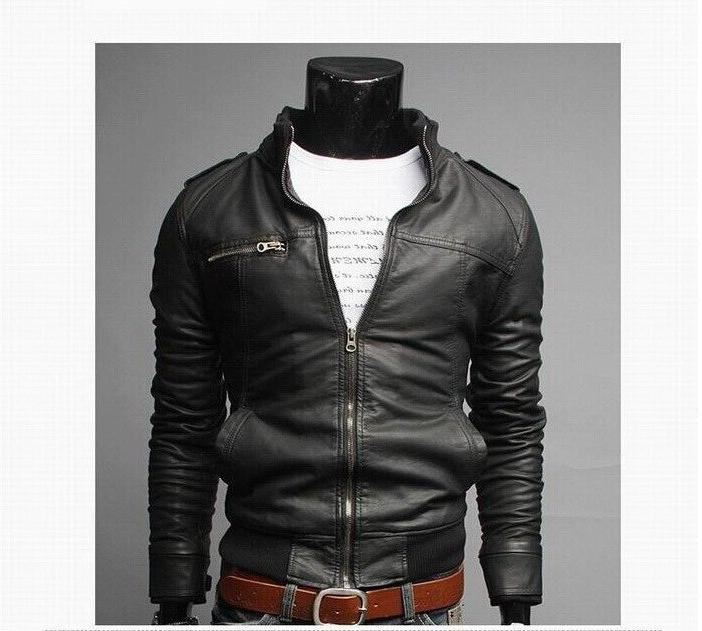 2019 New Fashion Male Plus Size 3XL Mens Stand Coats