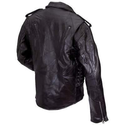 Men's Genuine Classic Black Jacket