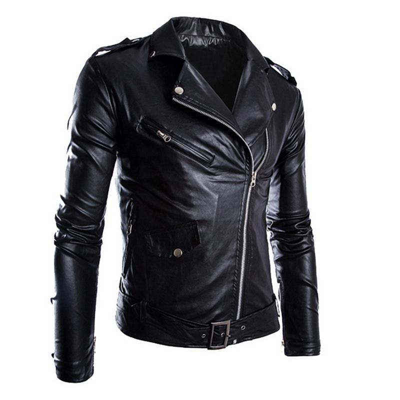 autumn winter fashion motorcycle font b jackets