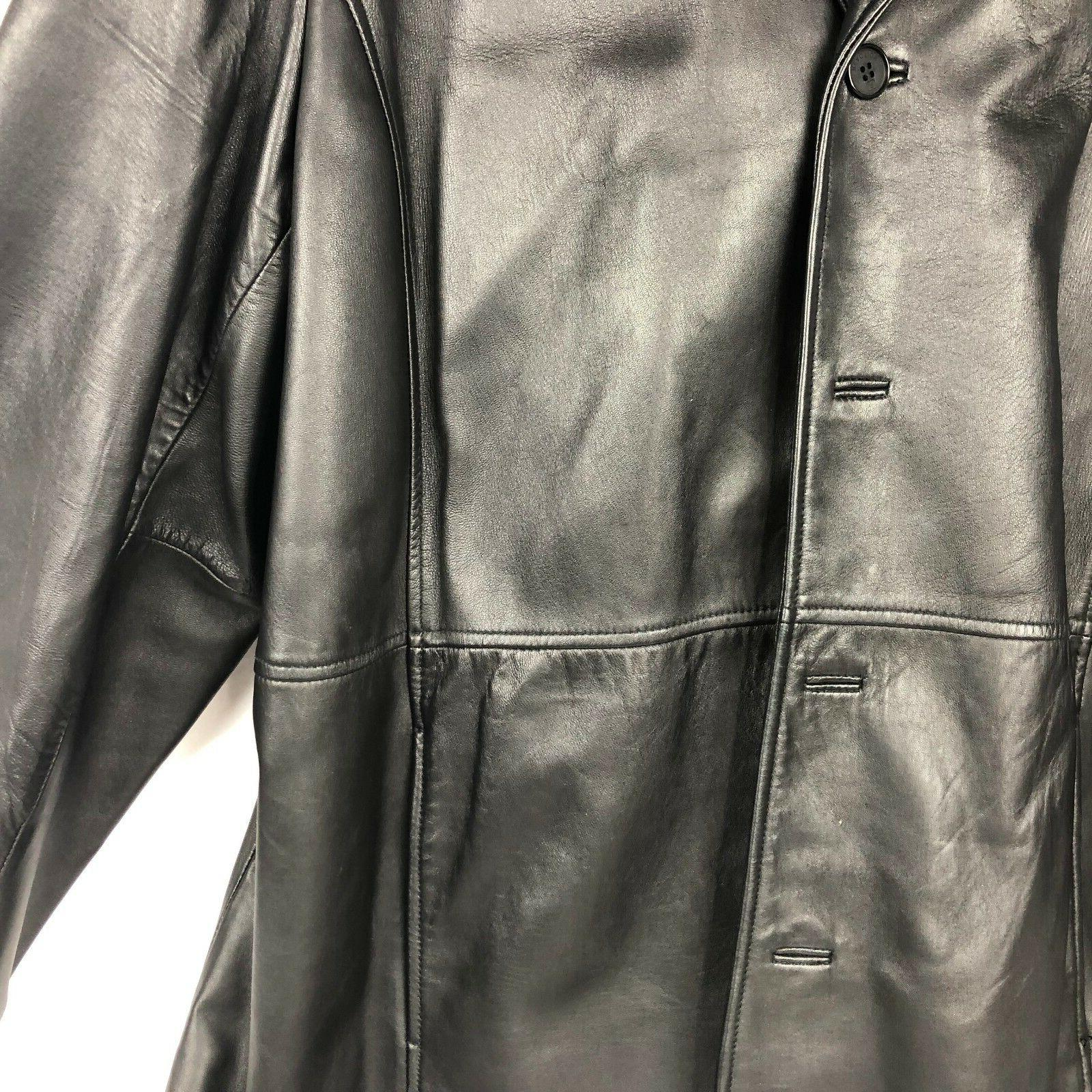 Kenneth Cole Reaction Long Leather Womens