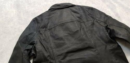 "BNWT All ""XL"" L0MI Biker Leather Jacket For 5"