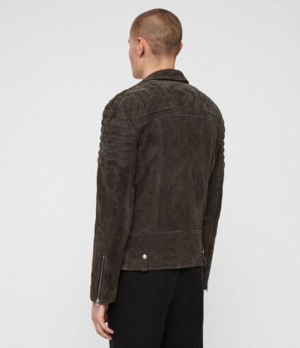 """BNWT HASKETT """"M"""" QUILTED BIKER Delivery"""