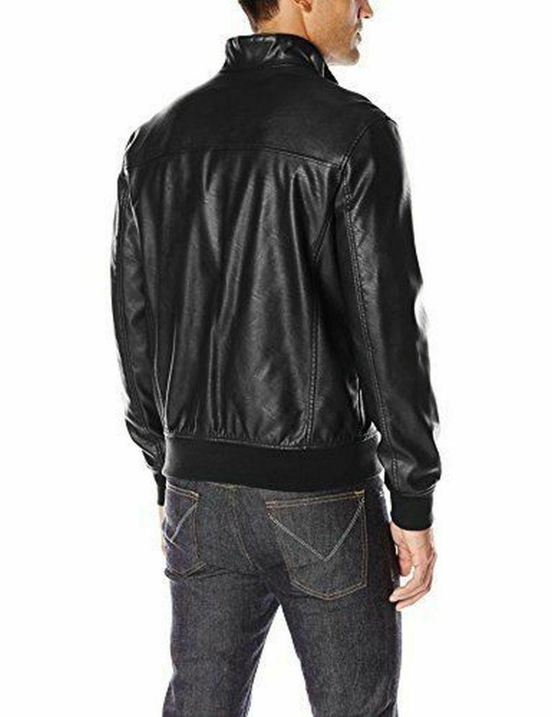 Tommy Hilfiger Bomber Smooth Lamb Leather