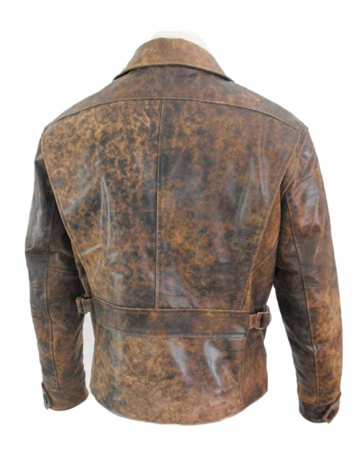 Escape from Russell Brown Leather Jacket