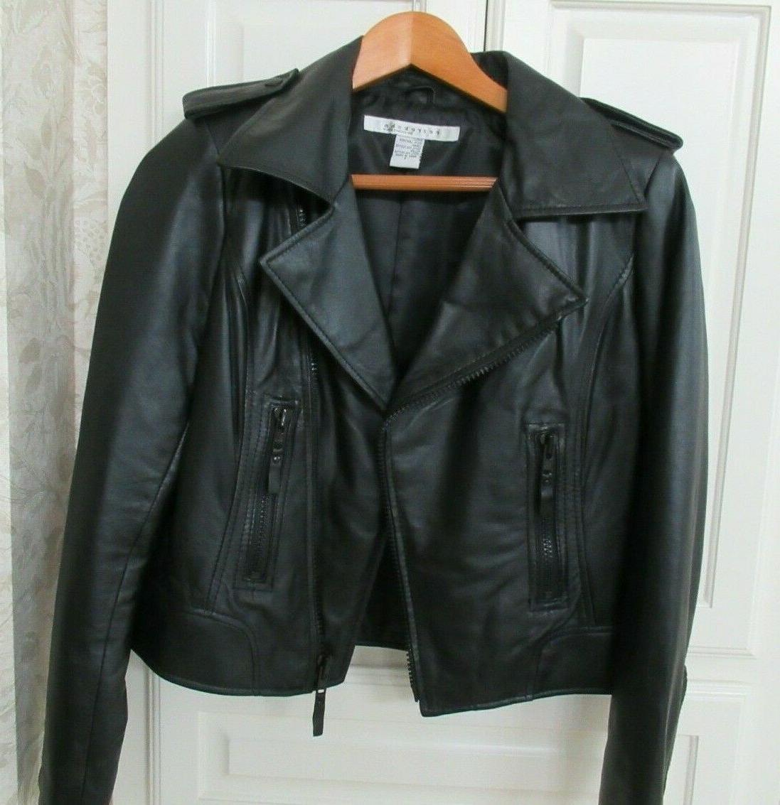 Genuine Leather Coat Small NEW