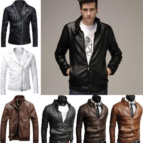 Slim Biker Winter Outwear
