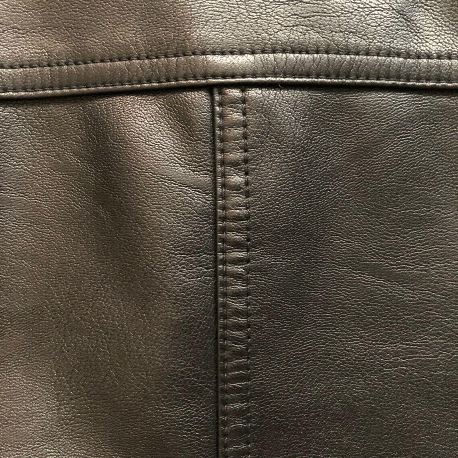 Tommy Leather Bomber