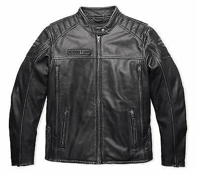 harley davidson men midway distressed charcoal leather