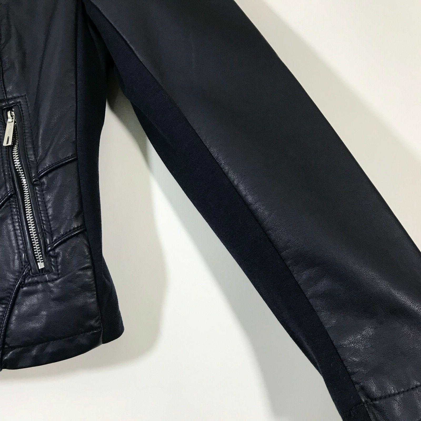 Kenneth Reaction Size Faux Navy Fitted Zip Pockets