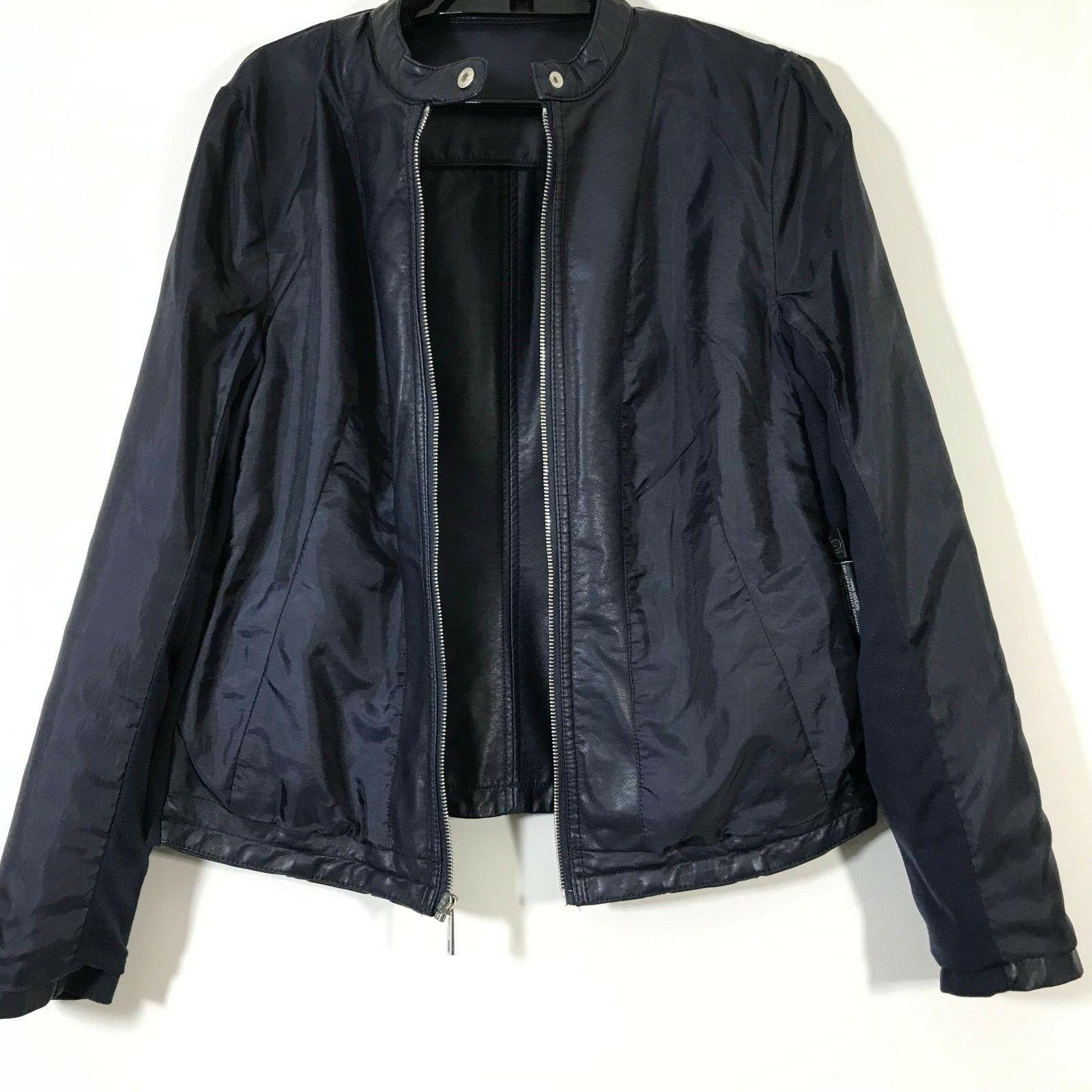 Kenneth Reaction Size Faux Navy Pockets
