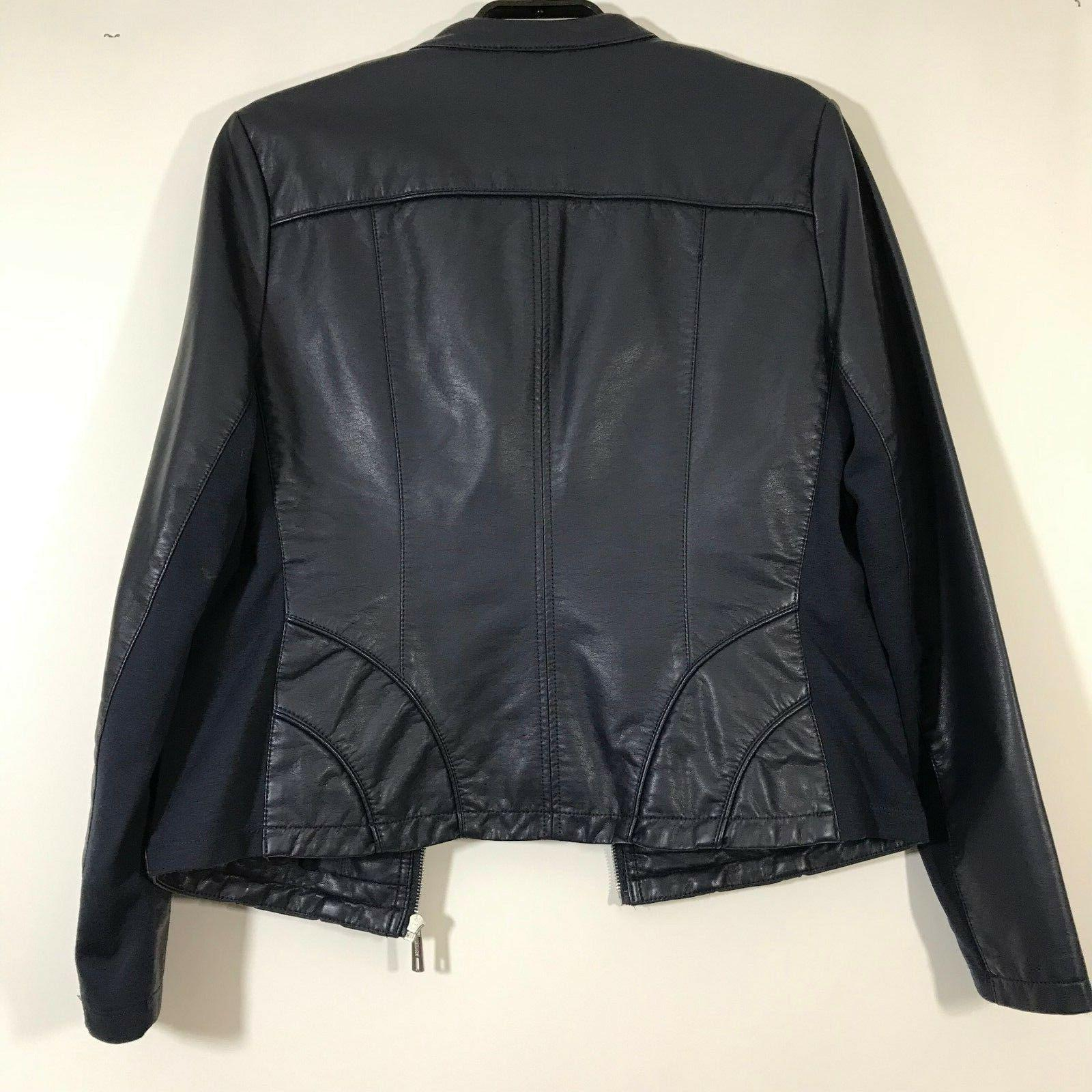 Kenneth Cole Reaction Size L Faux Navy Pockets