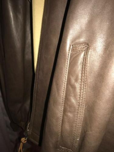 tommy leather Xl A Large