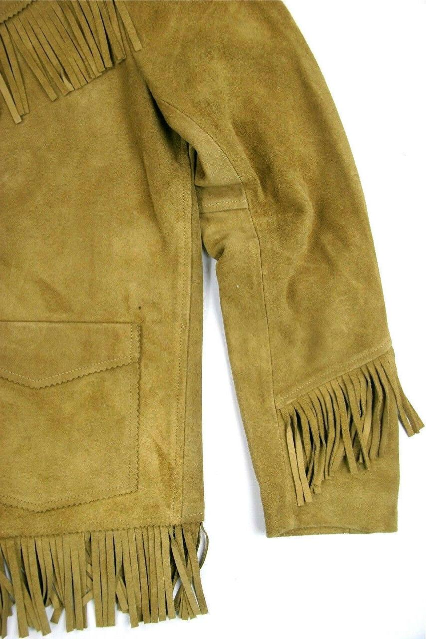 Levi's LVC Suede Fringe Made In Italy Levis Retro