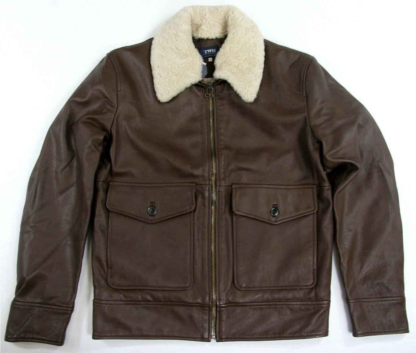 levi s made and crafted pilot jacket