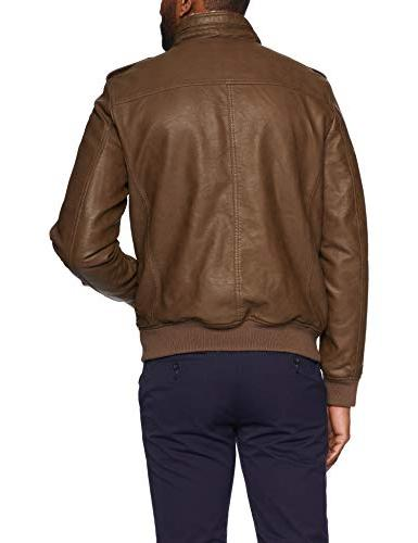 Levi's Faux Lined Aviator Earth,