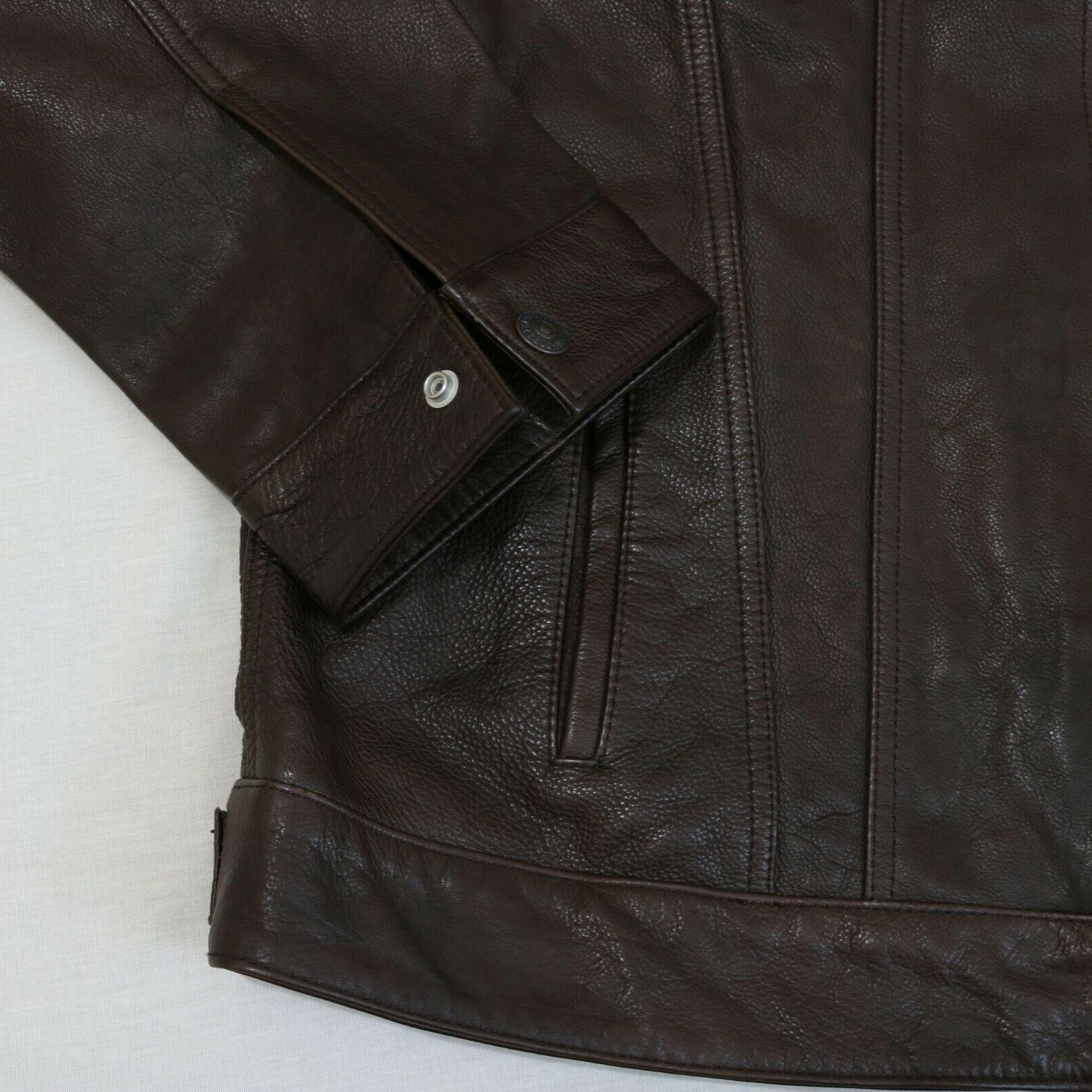 Leather Medium new with