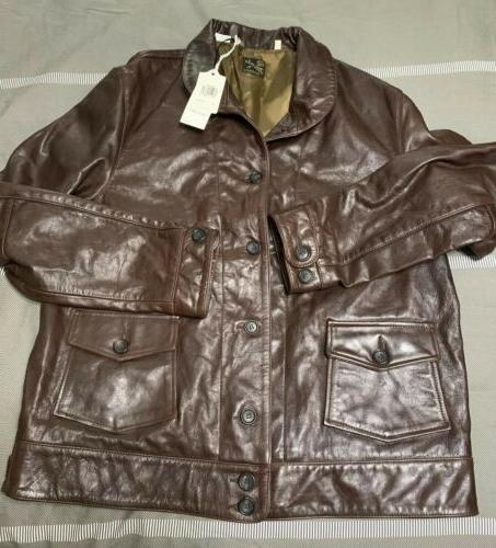 levi s vintage menlo cossack brown leather