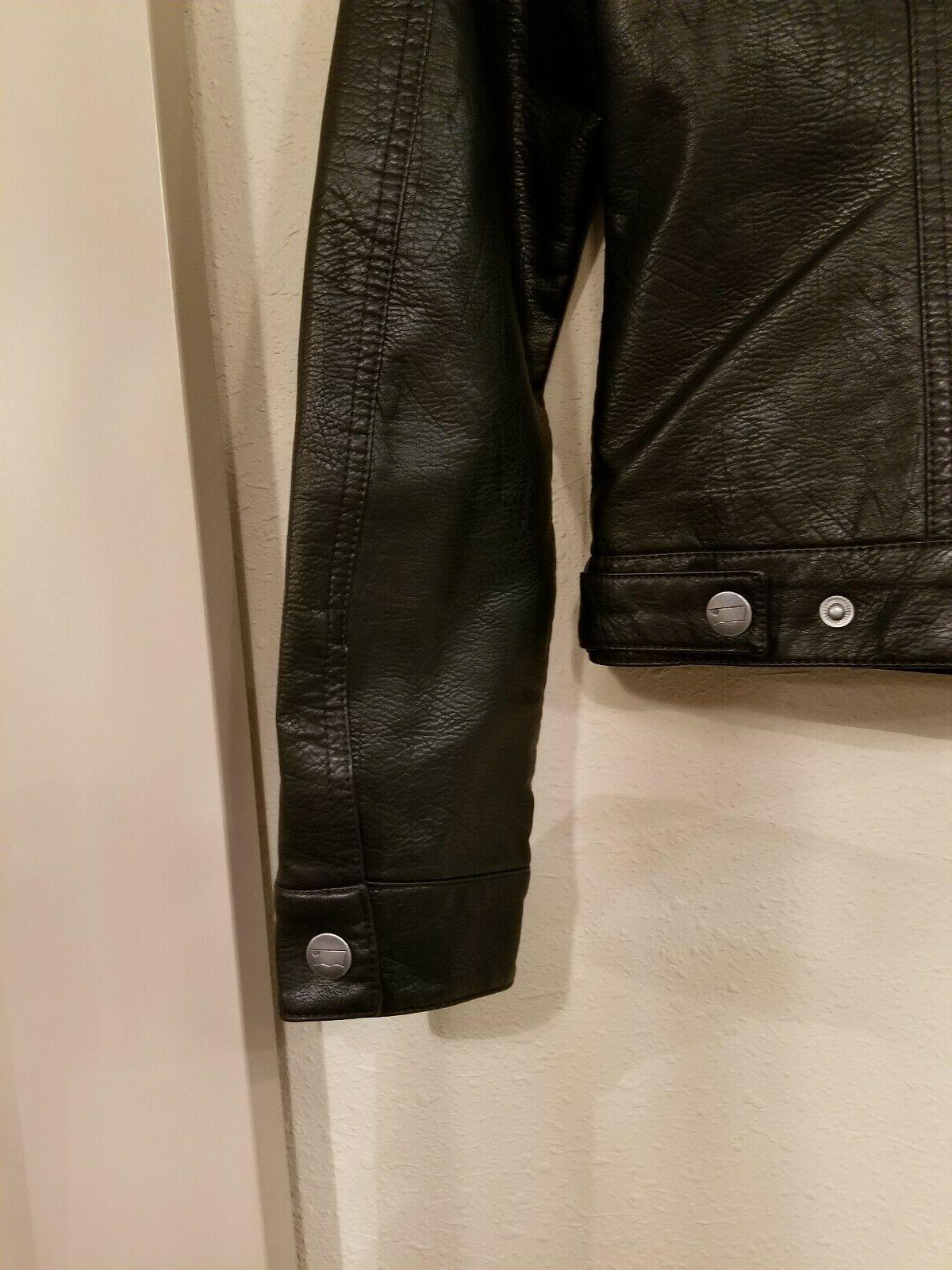 Levi's Leather Classic Jacket Size Small