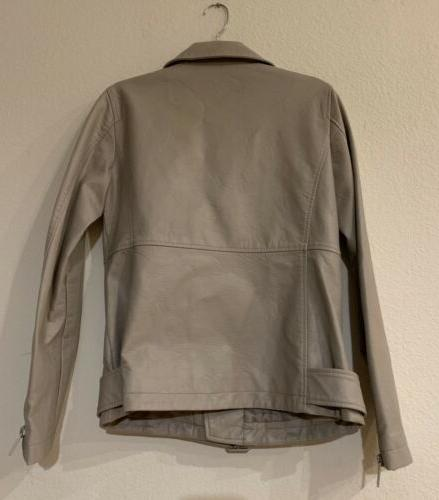 Levi's Leather Motorcycle Jacket Size Small
