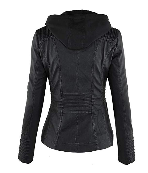 Made By Womens Faux Jacket