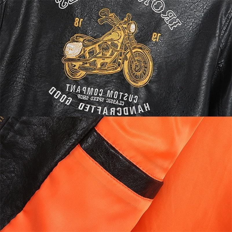 Male <font><b>Jacket</b></font> Slim Collar Coats Biker <font><b>Jackets</b></font> Fleece