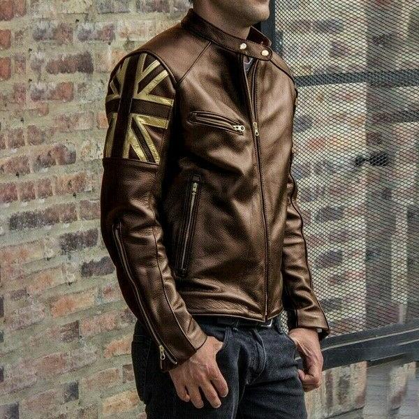 Men Cool Multi-pockets Warm Leather
