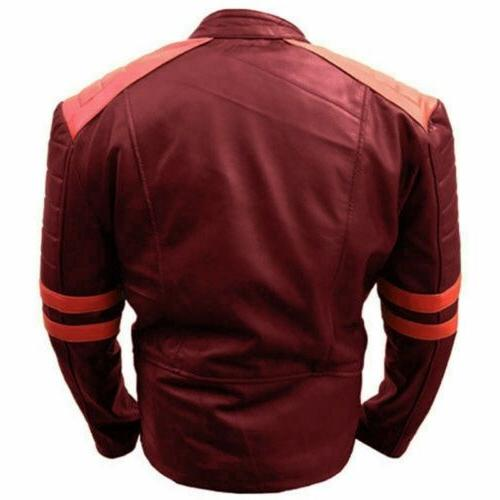 Men Jacket Fashion Patchwork Bomber Pilot