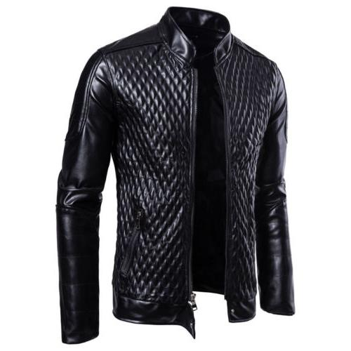 Men's Autumn Jacket Slim Zipper Casual Coat