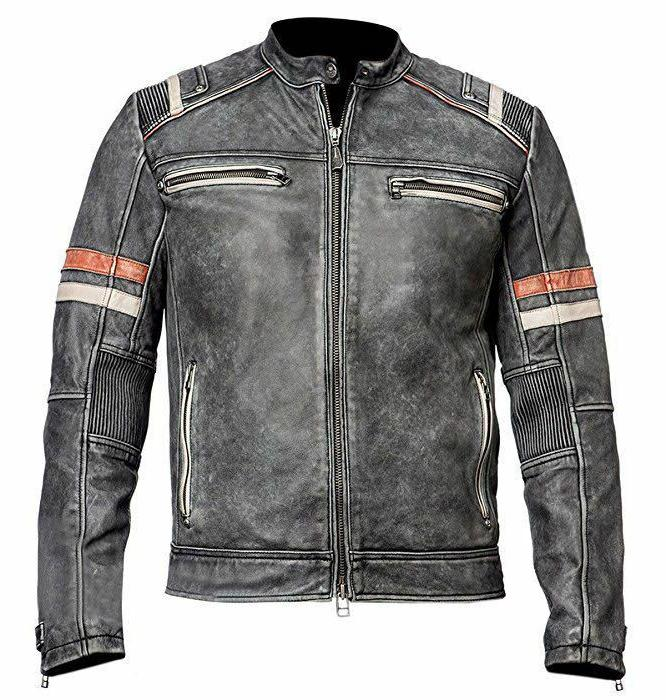 men s biker vintage motorcycle cafe racer
